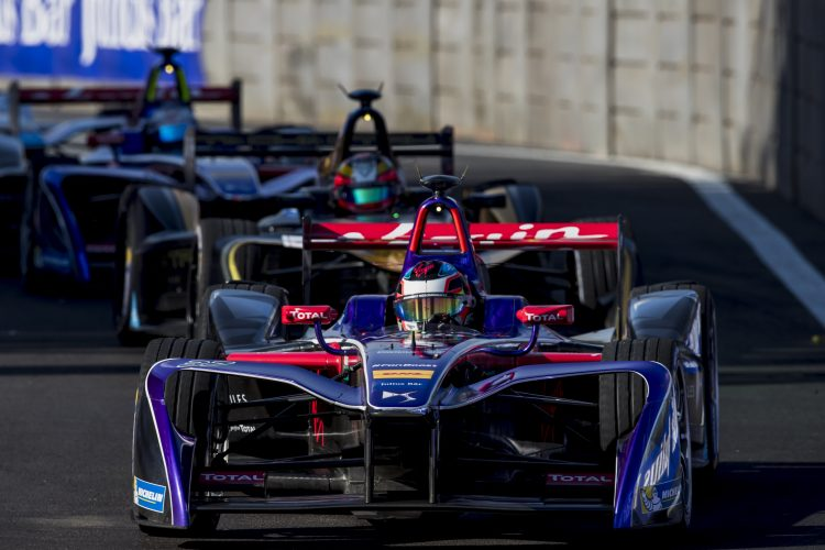 2016/2017 FIA Formula E Championship. Mexico City ePrix, Autodromo Hermanos Rodr'guez, Mexico City, Mexico. Saturday 1 April 2017. Jose Maria Lopez (ARG), DS Virgin Racing, Spark-Citroen, Virgin DSV-02.  Photo: Zak Mauger/LAT/Formula E ref: Digital Image _56I7014