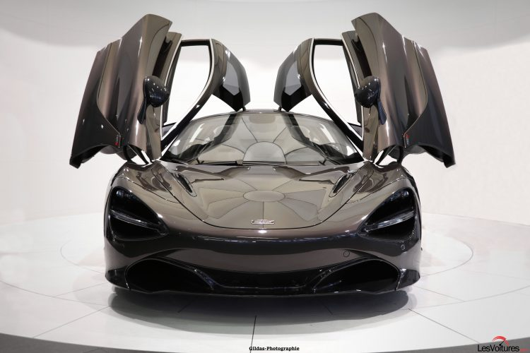 mclaren 720s la supercar d barque paris shooting photo les voitures. Black Bedroom Furniture Sets. Home Design Ideas