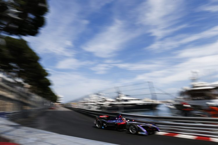 2016/2017 FIA Formula E Championship. Monte-Carlo, Monaco Saturday 13 May 2017. Jose Maria Lopez (ARG), DS Virgin Racing, Spark-Citroen, Virgin DSV-02. Photo: Alastair Staley/LAT/Formula E ref: Digital Image _X0W1089