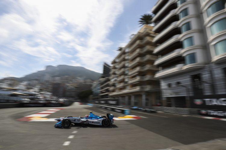 2016/2017 FIA Formula E Championship. Monte-Carlo, Monaco Saturday 13 May 2017. Antonio Felix da Costa (PRT), Amlin Andretti, Spark-Andretti, ATEC-02. Photo: Malcolm Griffiths/LAT/Formula E ref: Digital Image MALC1933