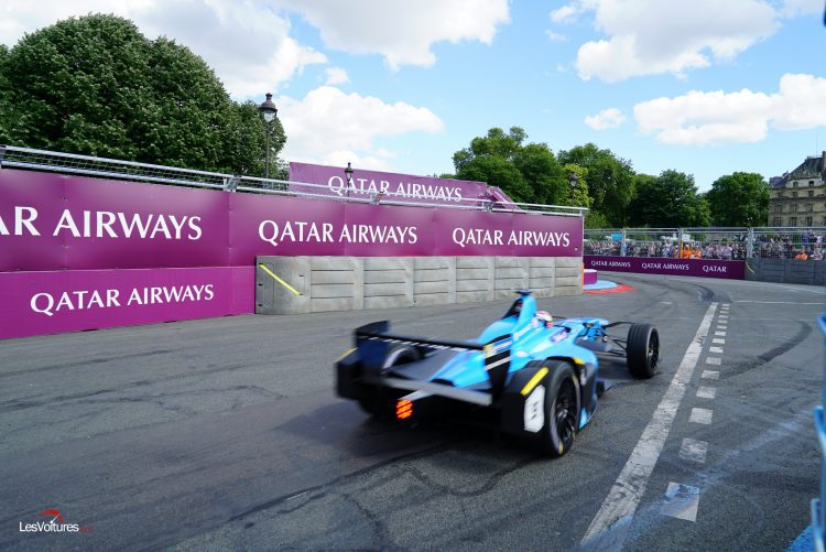 formula e eprix de paris s bastien buemi fait briller renault domicile les voitures. Black Bedroom Furniture Sets. Home Design Ideas
