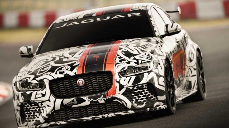 Jaguar XE SV Project 8 prototype testing Nurburgring World Copyright: Patrick Gosling / Beadyeye Ref: XE_SV_Project8_NBR-0311.CR2