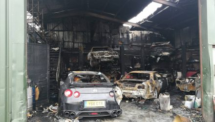 nissan-gt-r-fire-garage