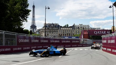 2016/2017 FIA Formula E Championship. Qatar Airways Paris ePrix, France. Saturday 20 May 2017. Sam Bird (GBR), DS Virgin Racing, Spark-Citroen, Virgin DSV-02. Photo: Steven Tee/LAT/FIA Formula E ref: Digital Image _R3I4001