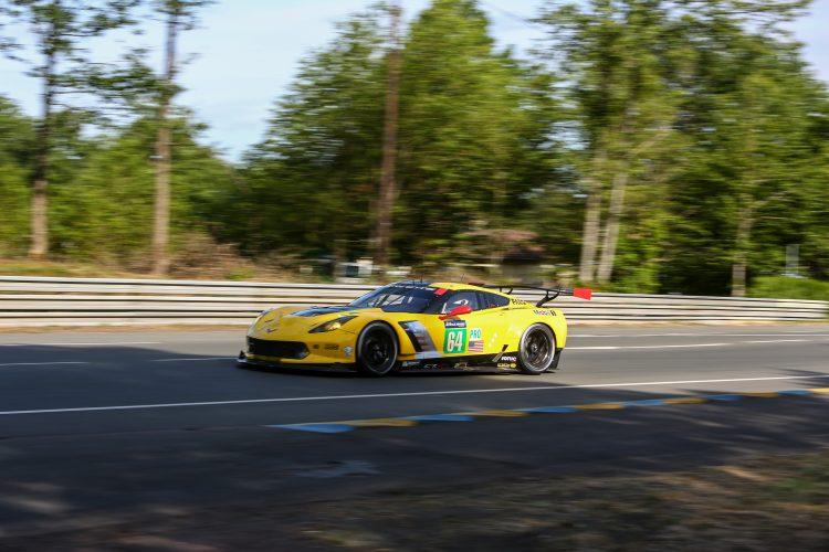 #64 CORVETTE RACING - GM (USA) Category : LM GTE Pro Cars : CHEVROLET CORVETTE C7.R Tyres : MICHELIN Drivers : Oliver GAVIN (GBR) Tommy MILNER (USA) Marcel FÄSSLER (CHE)