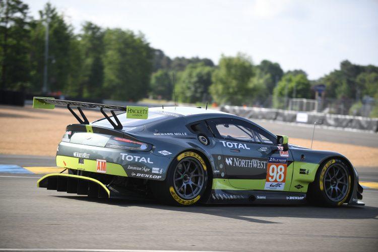 #98 ASTON MARTIN RACING (GBR) Category : LM GTE Am Cars : ASTON MARTIN VANTAGE Tyres : DUNLOP Drivers : Paul DALLA LANA (CAN) Pedro LAMY (PRT) Mathias LAUDA (AUT)