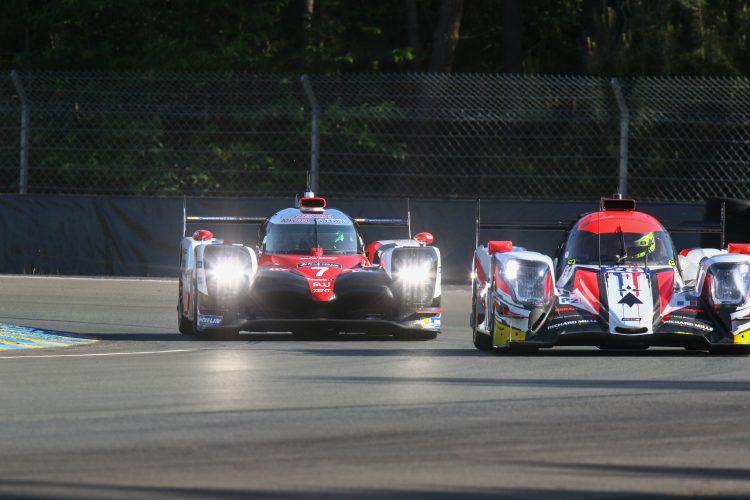 #7 TOYOTA GAZOO RACING (JPN) Category : LM P1 Cars : TOYOTA TS050 - HYBRID Tyres : MICHELIN Drivers : Mike CONWAY (GBR) Kamui KOBAYASHI (JPN) Stéphane SARRAZIN (FRA) Nicolas LAPIERRE (FRA) Yuji KUNIMOTO (JPN)
