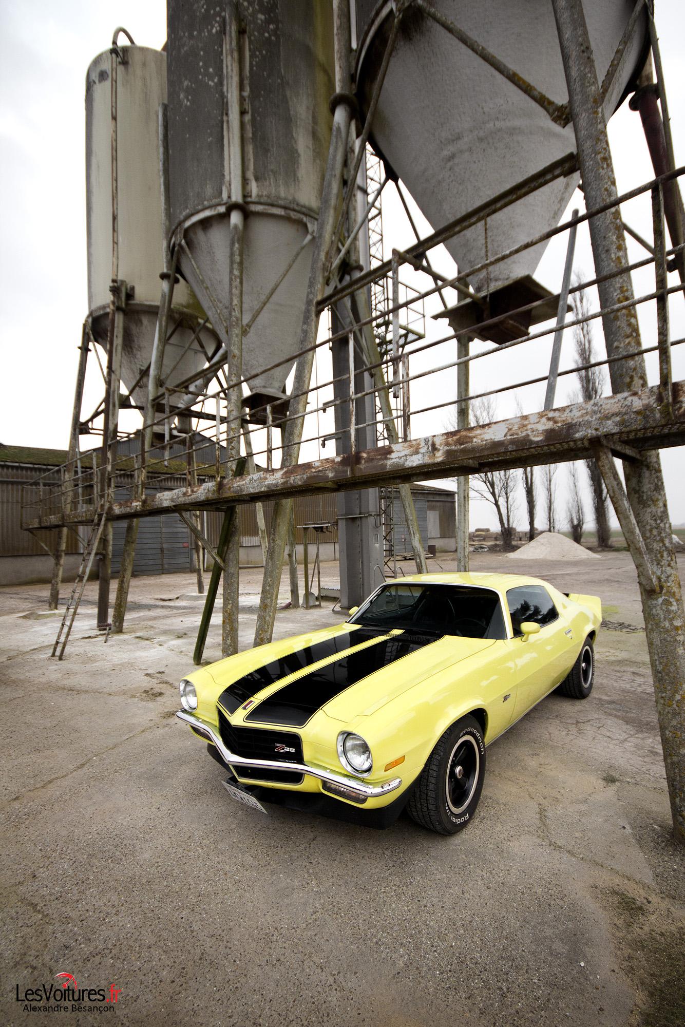Chevrolet Camaro V8 Zz8 1973 Pony Car 5 Les Voitures