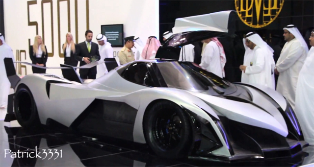 Lykan Hypersport Devel Sixteen Les Voitures