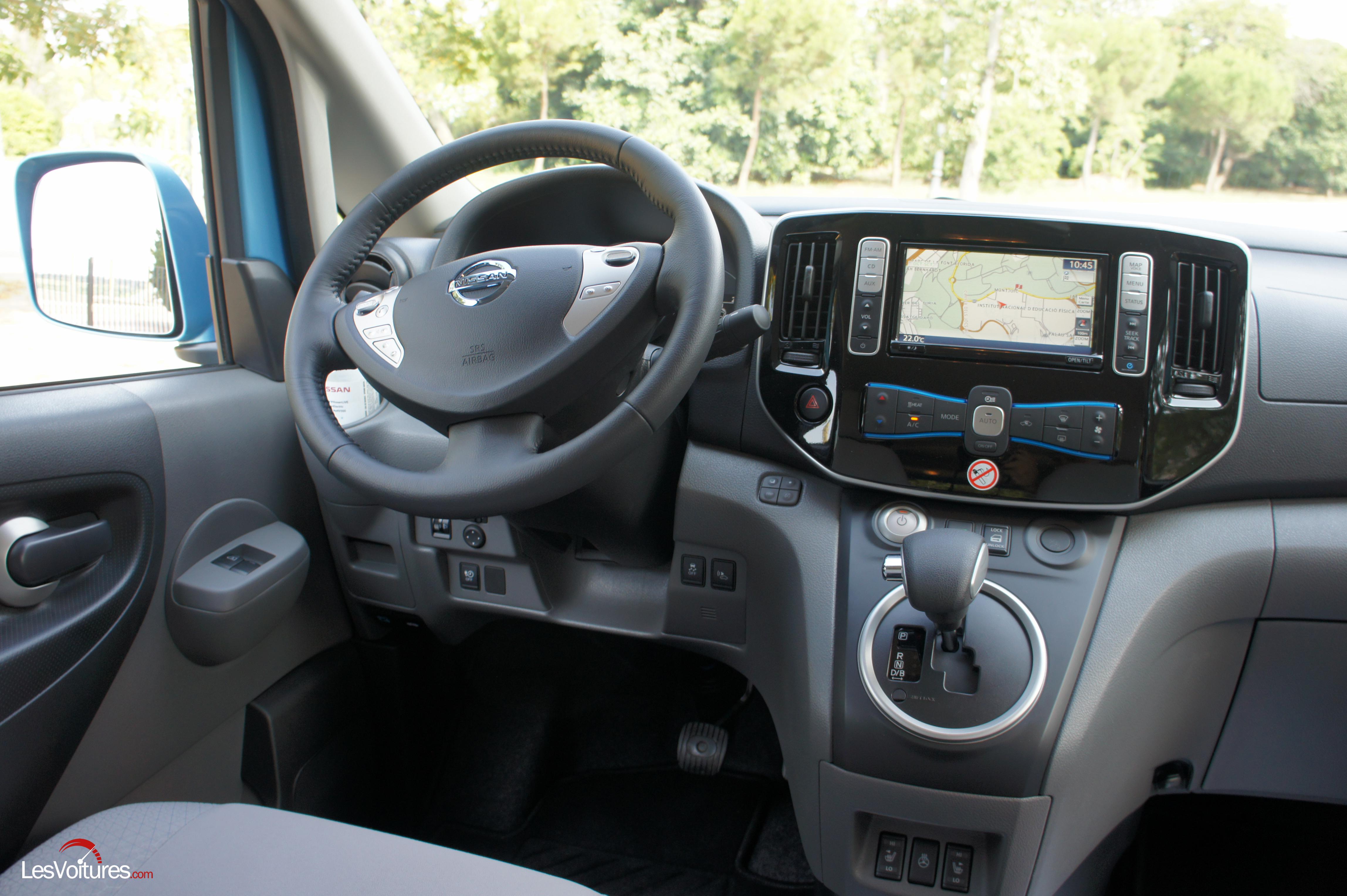 Nissan E Nv Fourgon Evalia Ludospace C A Lectrique on Fiat Car Race