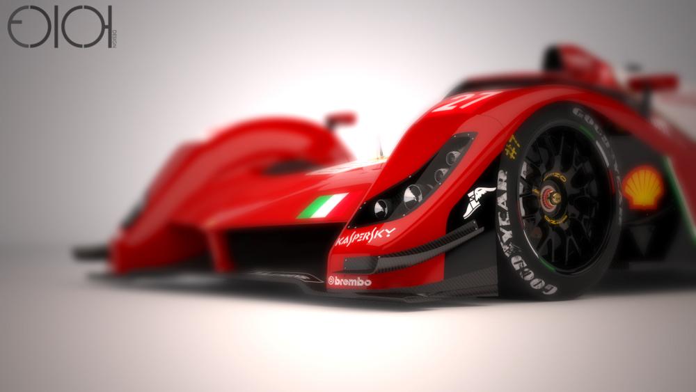 Ferrari Lm P1 Concept Le Mans Folch Oriol Garcia 10 Les