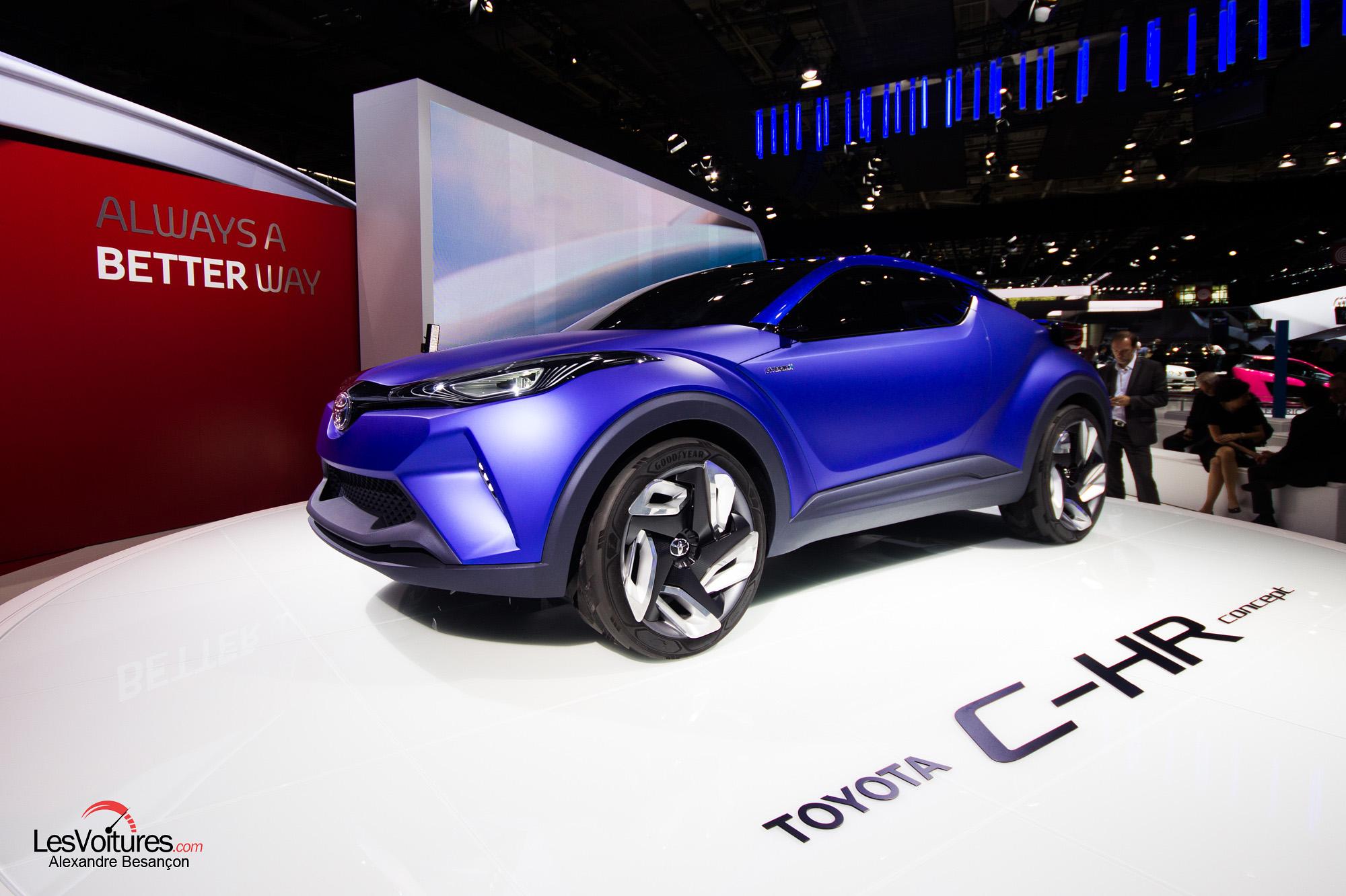mondial automobile 2014 concept car toyota ch r les voitures. Black Bedroom Furniture Sets. Home Design Ideas