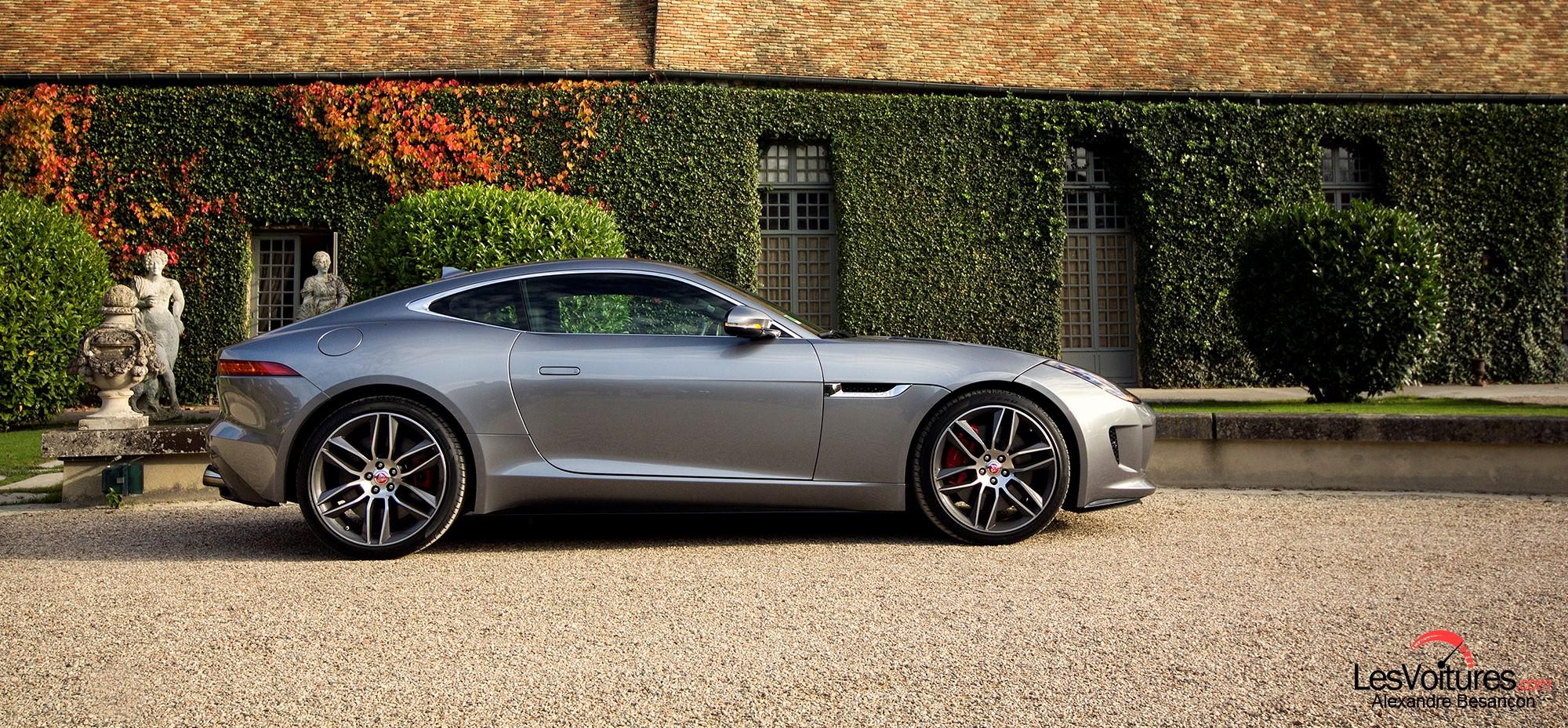Jaguar f type r coup balade lifestyle au ch teau de - Jaguar f type r coupe prix ...