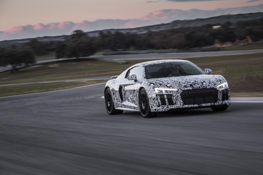 Audi R8 Deux Nouvelles Lamborghini Aux Anneaux Les