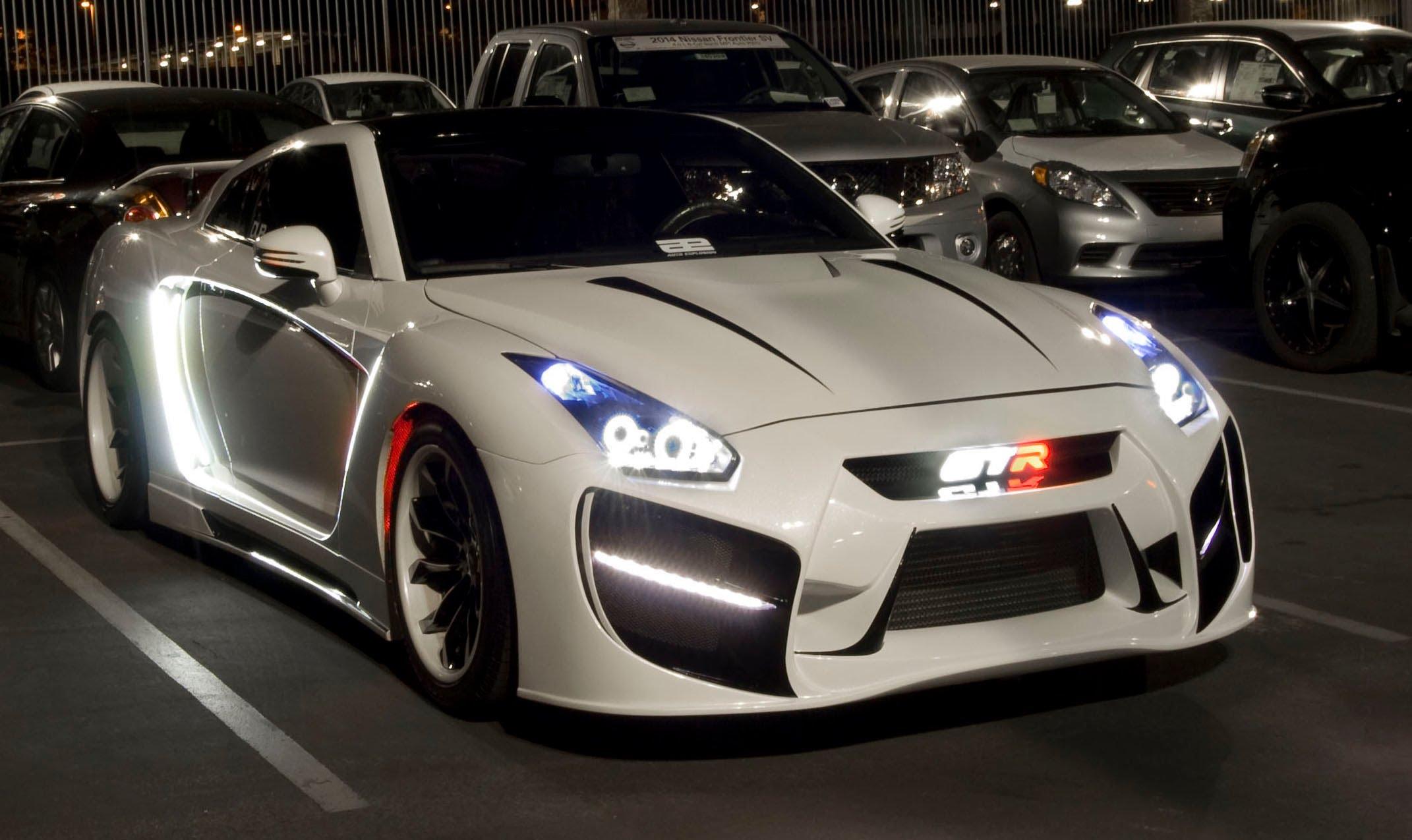 Nissan-gt-r-Radzilla-flyride | Les Voitures