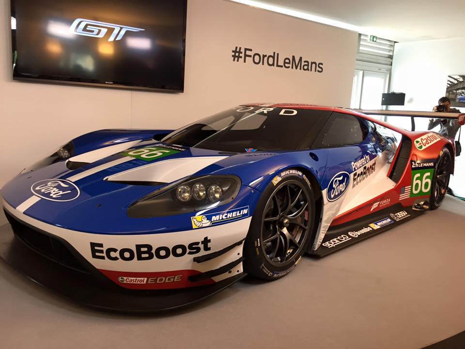 24 heures du mans ford de retour en 2016 avec la gt les voitures. Black Bedroom Furniture Sets. Home Design Ideas