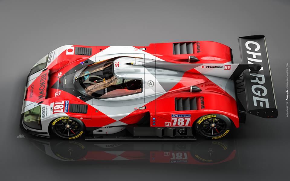 Mazda 787B : GaazMaster Motorsport crée une fantastique ...