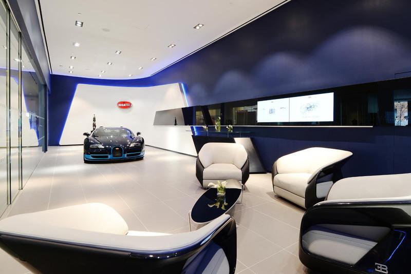 Bugatti Chiron Les Nouveaux Showrooms Sont Pr 234 Ts 224
