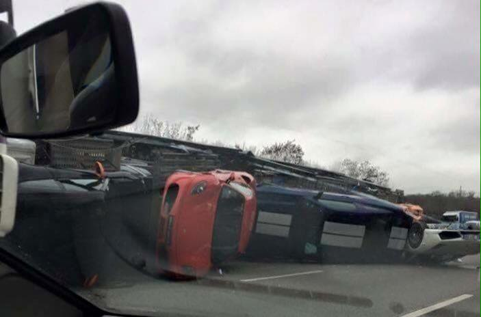Accident A12 Supercar Bailly Ferrari 2016 Les Voitures