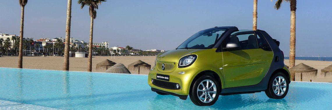 Smart fortwo cabrio : du fun et du sérieux à l'air libre, essai au soleil !