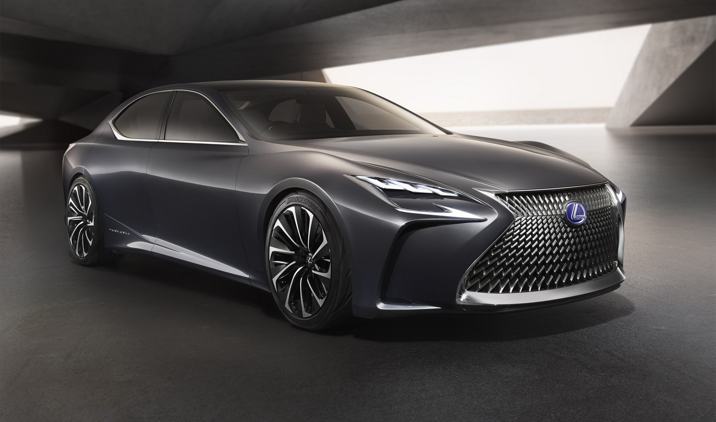 lexus lf fc concept pr misse d 39 une future berline hydrog ne les voitures. Black Bedroom Furniture Sets. Home Design Ideas