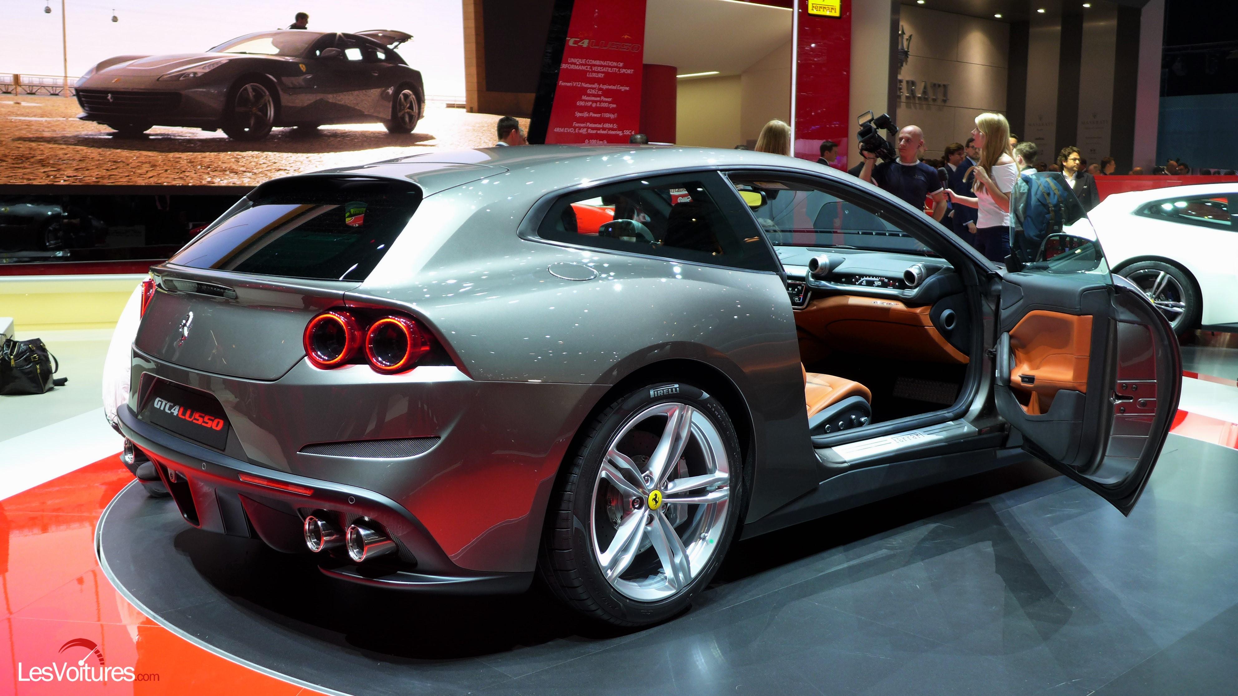 Ferrari Gt4c Lusso 11 Les Voitures