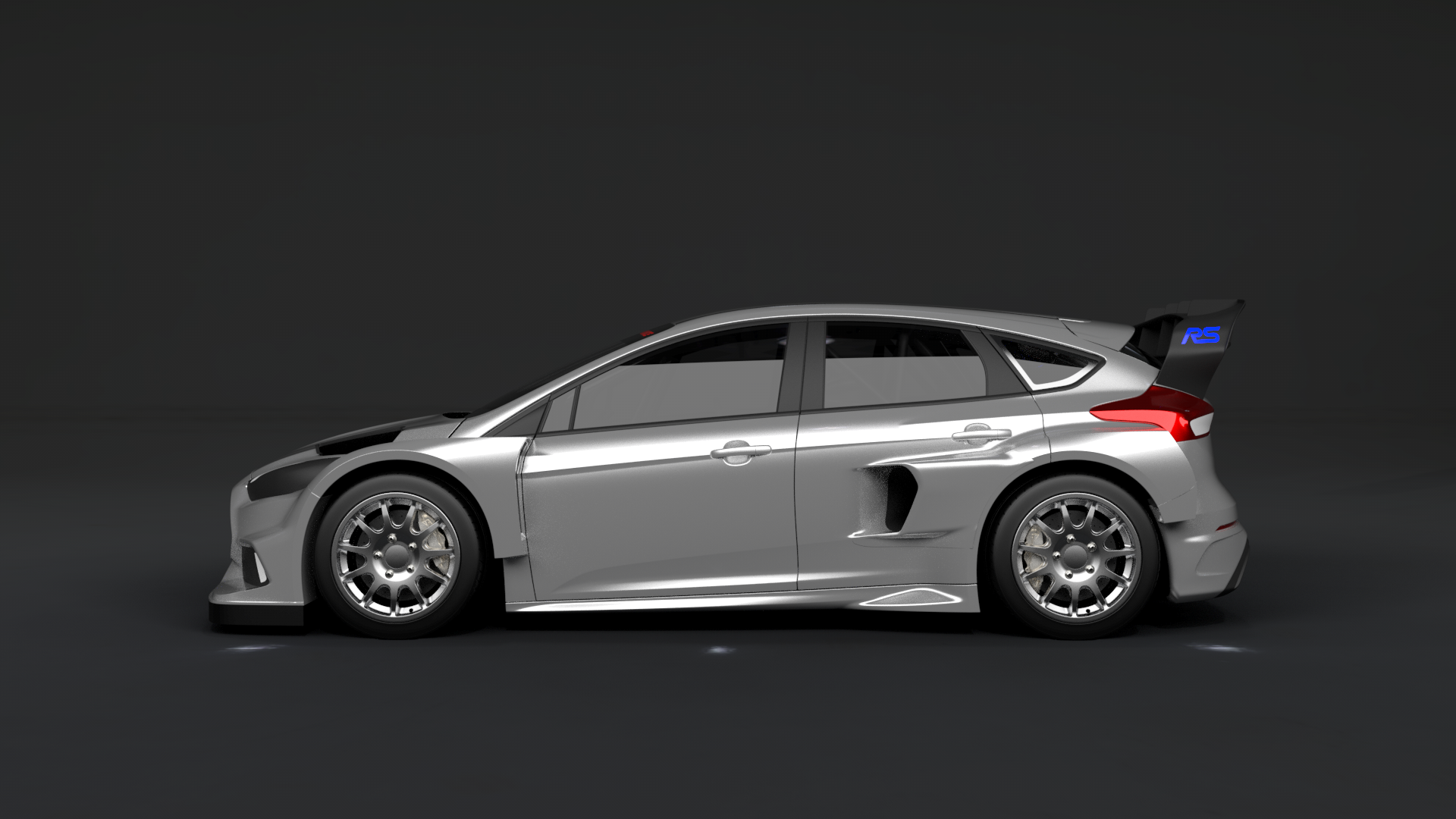 Ford Focus Rs Rallycross Wrx Block 2016 Les Voitures