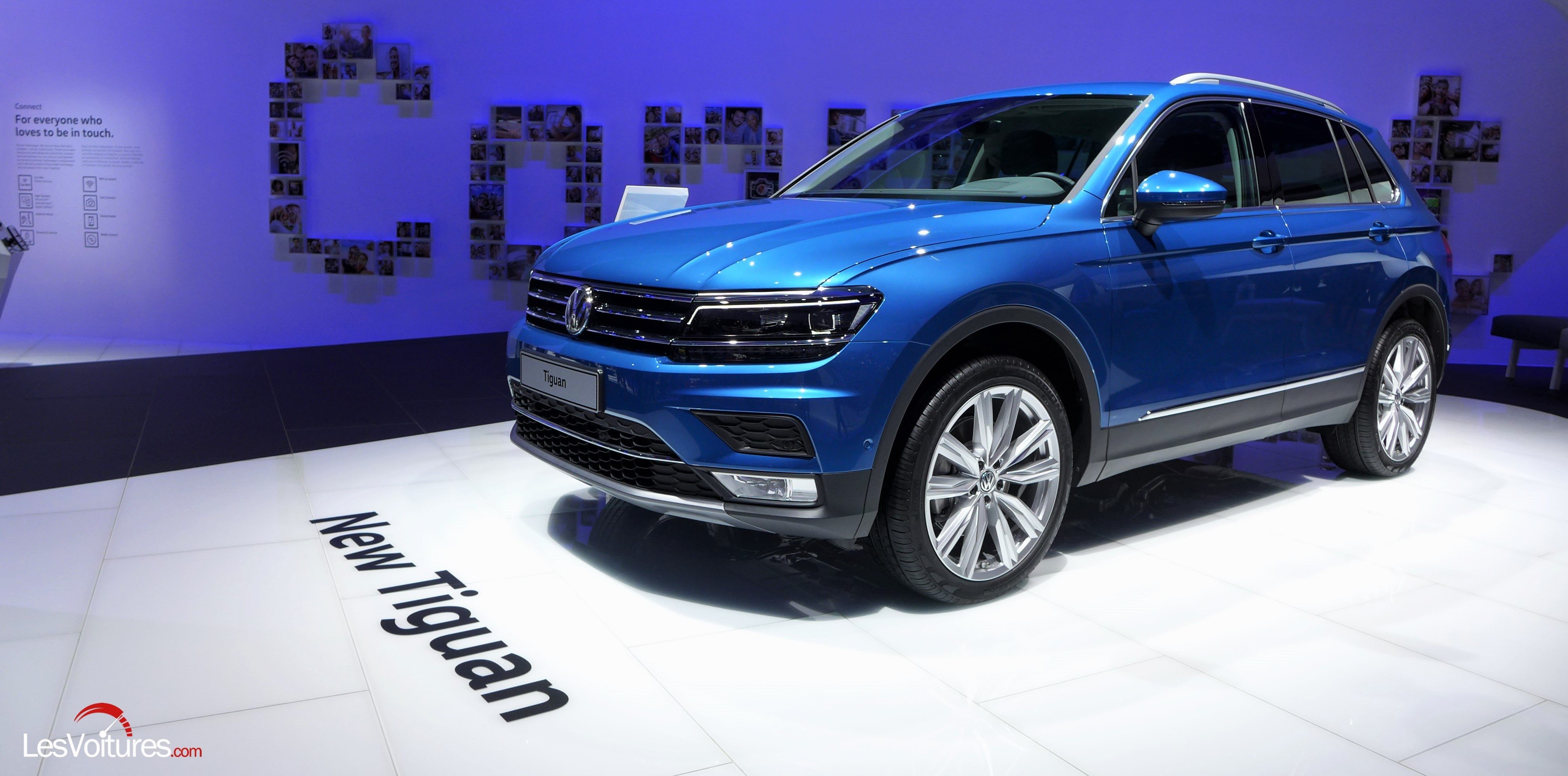 volkswagen tiguan une version xl 7 places en 2017 et coup en 2018 les voitures. Black Bedroom Furniture Sets. Home Design Ideas