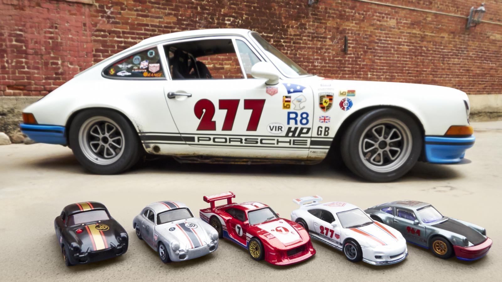 Porsche Les Fantastiques Miniatures Hot Wheels 224 La