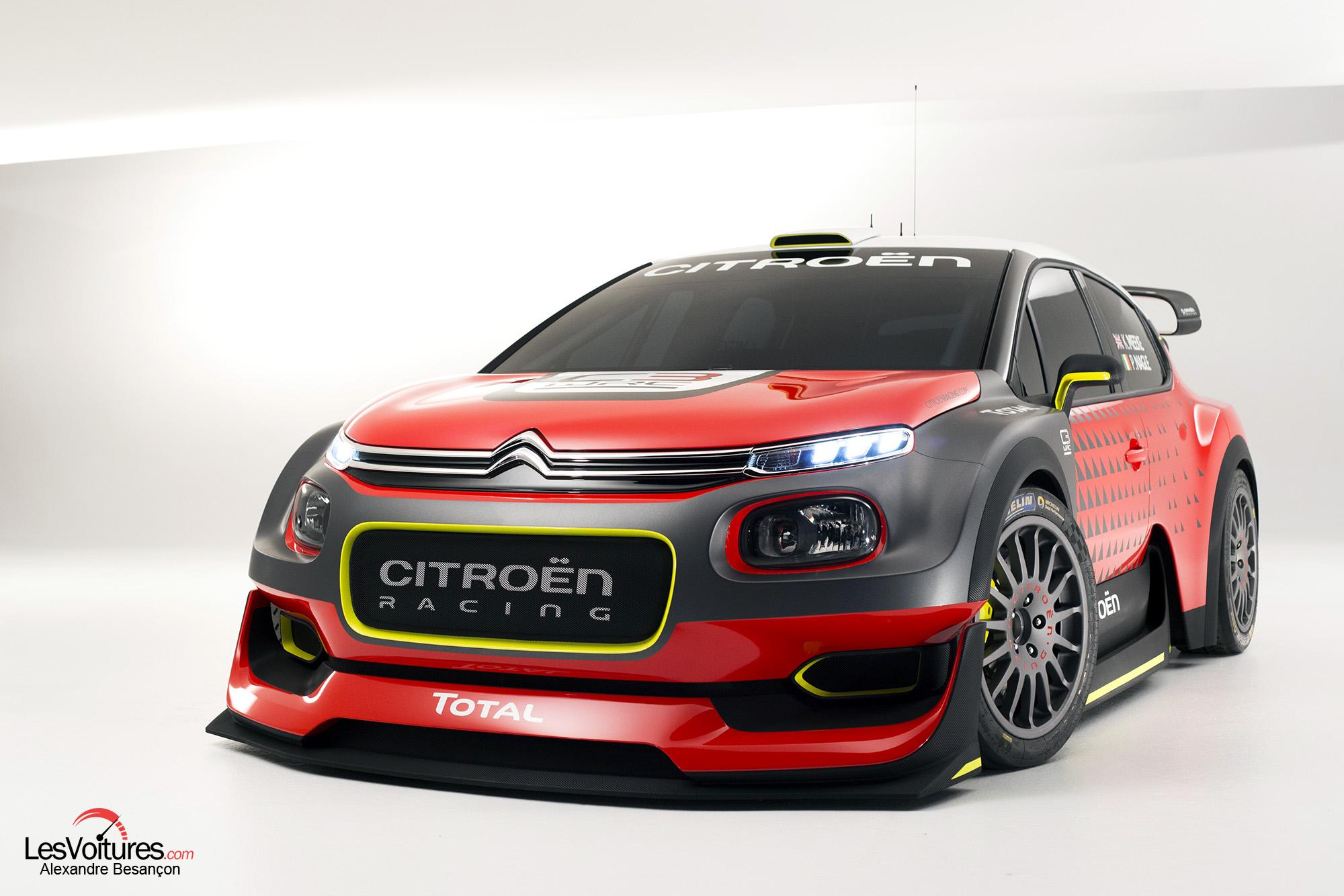 Citroen C3 Wrc Concept 2017 10 Les Voitures
