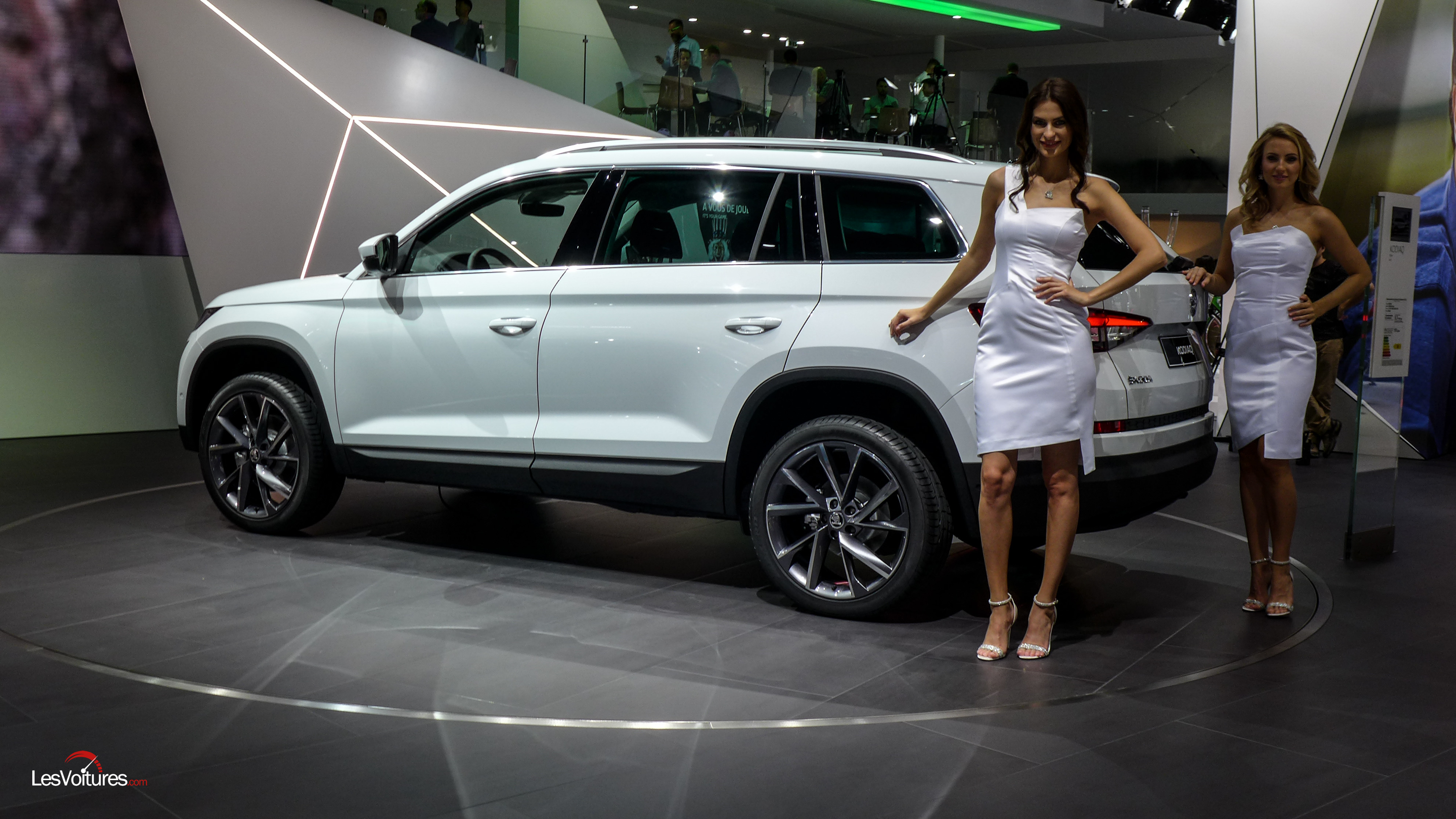 Mondial Automobile Paris 2016 134 Skoda Kodiaq Les Voitures