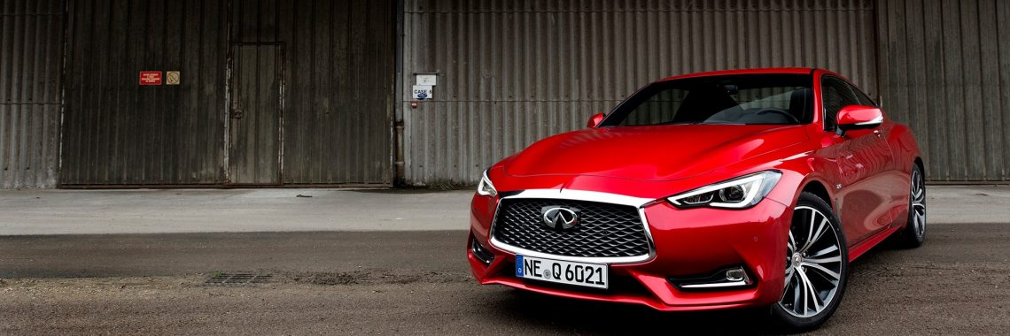 Infiniti Q60 : premier contact avec le coupé premium, shooting photo…