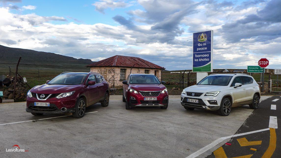 afrique-de-sud-49-road-trip-les-voitures-m6-turbo-seat-ateca-peugeot-3008-nissan-qashqai