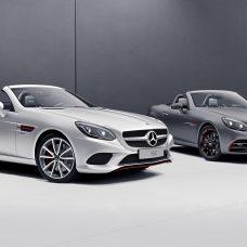 Mercedes-Benz SL designo Edition & SLC RedArt Edition : éditions spéciales pour les roadsters !