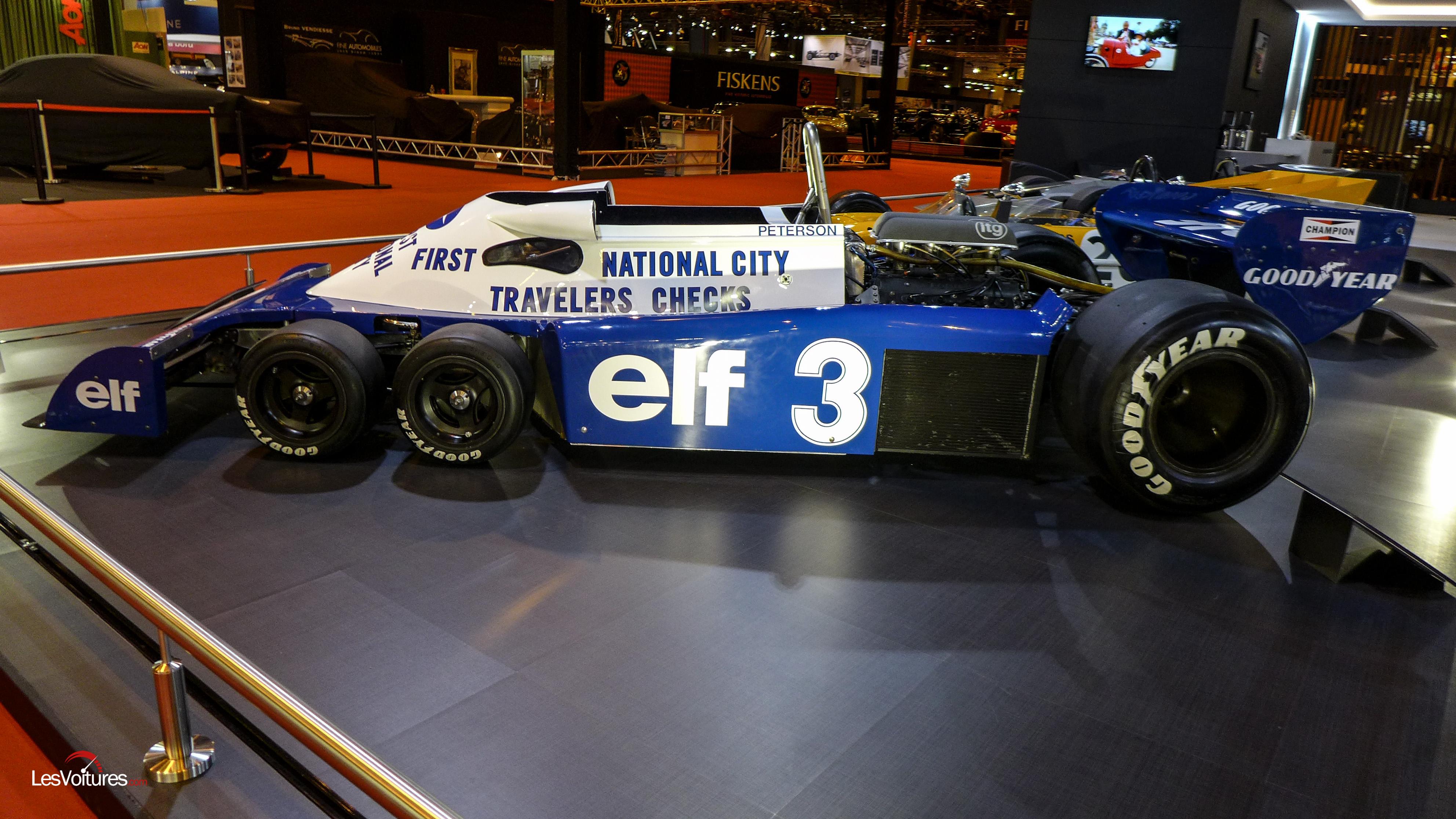 retromobile-elf-Tyrell-p34-f1-6-roues | Les Voitures