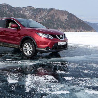 Nissan Qashqai : le crossover fête ses 10 ans sur lac Baïkal, reportage exclusif !