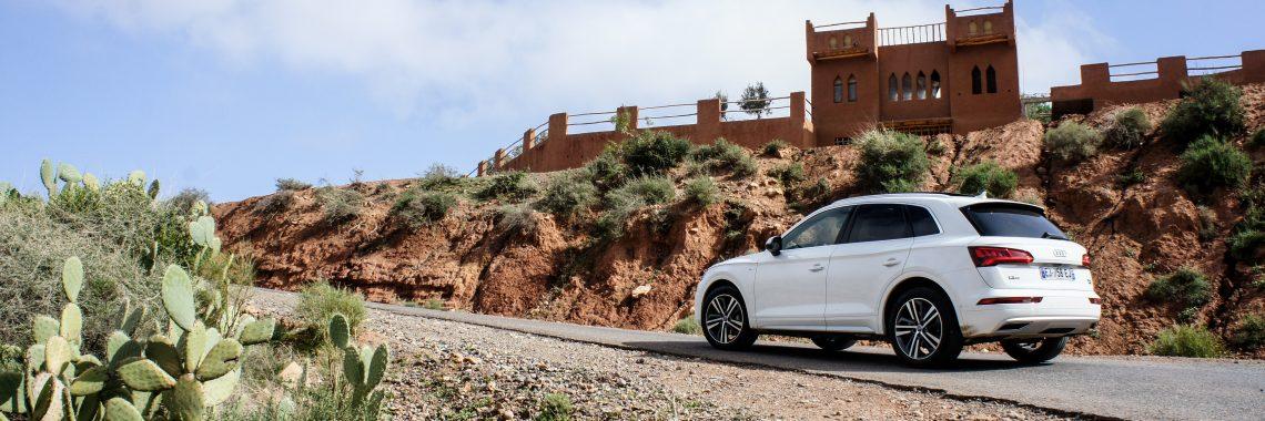 Audi Q5 : La polyvalence totale à l'épreuve du désert et de l'Atlas !