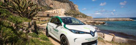 Renault Zoé : nouvelle ambassadrice écologique de la Sicile…
