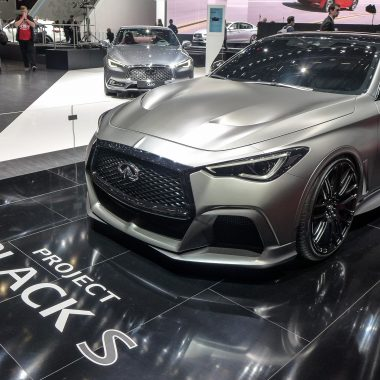 Infiniti Q60 Project Black S Concept : le « monstre  franco-japonais » en photos de Genève