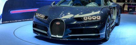 Bugatti Chiron : en «Bleu Royal» à Genève !