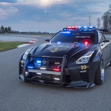 Nissan GT-R : «Copzilla» débarque à New York !