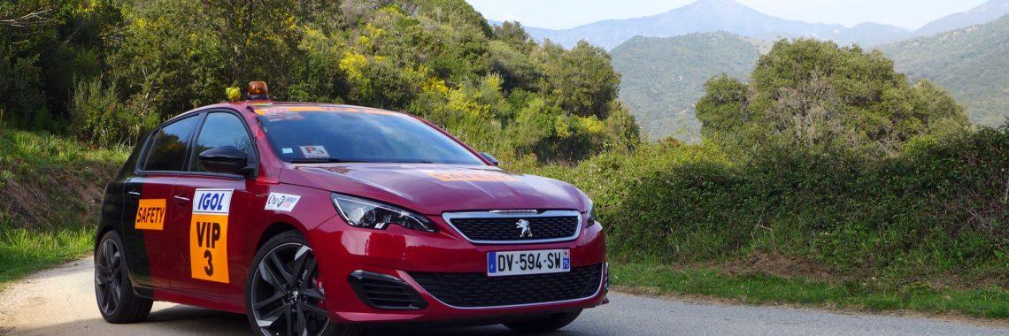 Vidéo : la Peugeot 308 GTi à l'attaque des Spéciales du Tour de Corse !