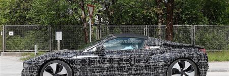 BMW i8 Spyder : la future hybride sportive «cheveux au vent» surprise en essai !