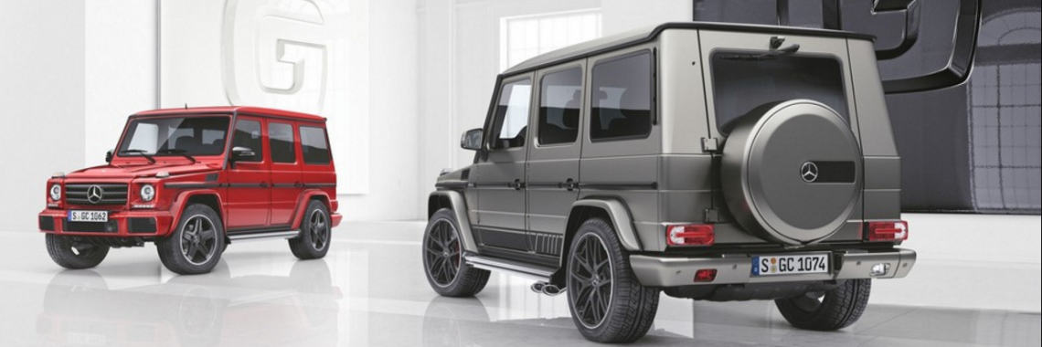 Mercedes-Benz Classe G : «l'inclassable 4X4» s'offre deux séries spéciales !