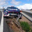 Vidéo : un pilote de rallye et son copilote sauvés par le rail de sécurité !