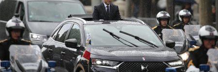 «Macronmobile» : le nouveau président choisit le DS 7 Crossback !