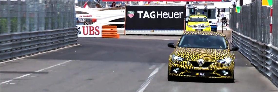 Renault Mégane R.S. : la version 2018 en piste au Grand Prix de Monaco !