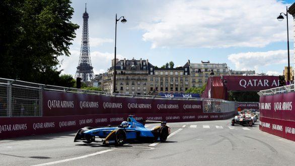 2016/2017 FIA Formula E Championship. Qatar Airways Paris ePrix, France. Saturday 20 May 2017. Sam Bird (GBR), DS Virgin Racing, Spark-Citroen, Virgin DSV-02. Photo: Steven Tee/LAT/FIA Formula E ref: Digital Image _R3I4001