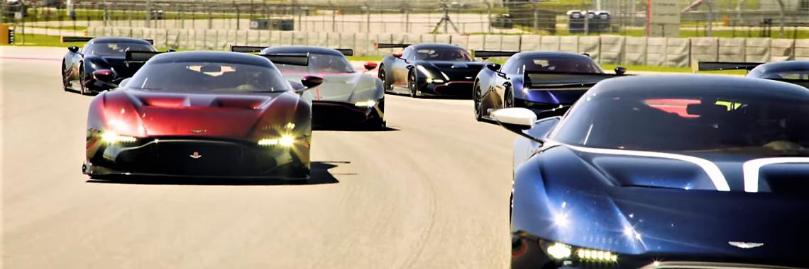 Vidéo : 7 Aston Martin Vulcan en action sur le Circuit des Amériques !