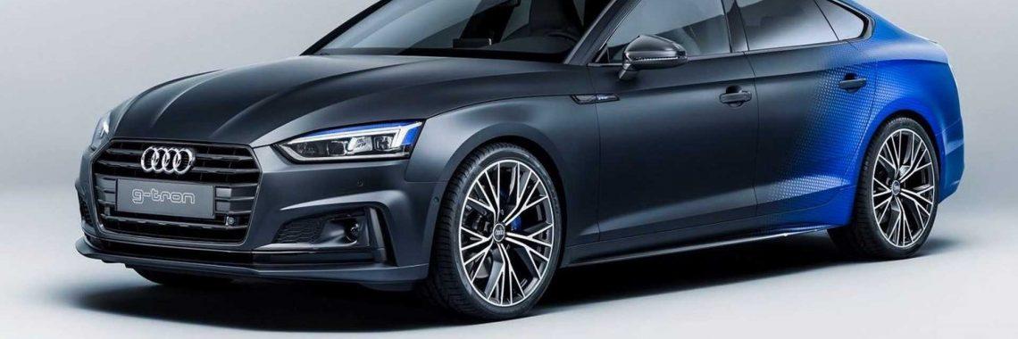 Audi A5 Sportback g-tron : une livrée coupe franche pour Worthersee !